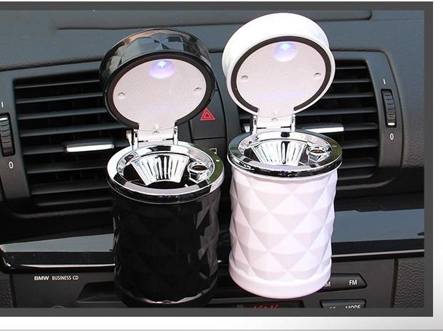 pepelnica dlja avtomobilja s podsvetkoj lsq 08 - Пепельница для автомобиля с подсветкой LSQ: крышка, держатель для сигарет