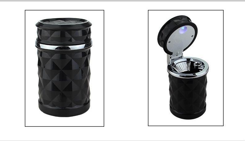pepelnica dlja avtomobilja s podsvetkoj lsq 10 - Пепельница для автомобиля с подсветкой LSQ: крышка, держатель для сигарет