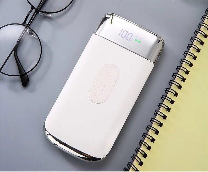 Беспроводная зарядка (Qi зарядное) с функцией PowerBank 10000 мАч L350S
