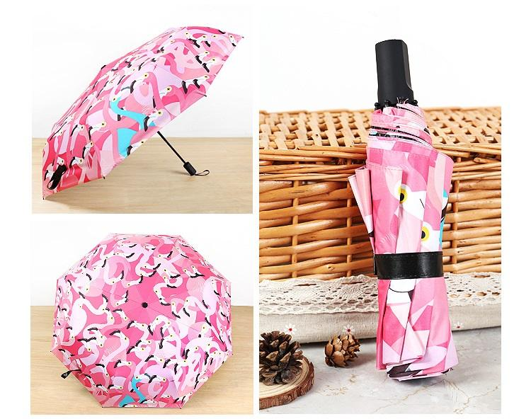купить хороший зонт с фламинго