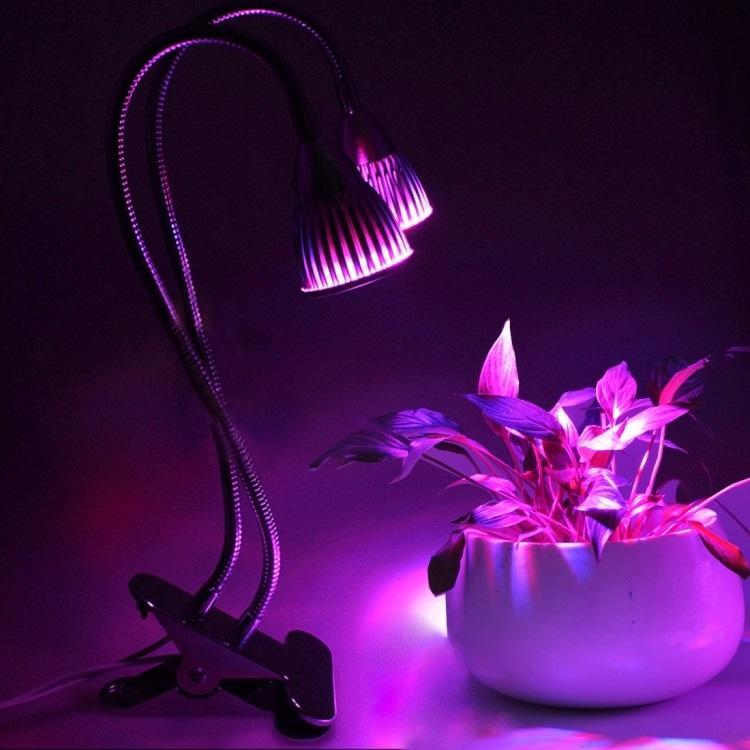 svetodiodnaja fitolampa dlja rastenij 2 v 1 10 vt 10 svetodiodov 11 - Светодиодная фитолампа для растений 2 в 1 (10 Вт, 10 светодиодов)