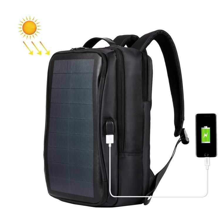 USB-рюкзак с солнечной батареей 14Вт HAWEEL 2170B с USB-портом и гибкой солнечной панелью