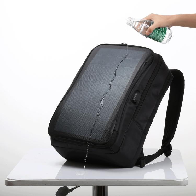 usb rjukzak s solnechnoj batareej 14vt haweel 2170b 07 - USB-рюкзак с солнечной батареей 14Вт HAWEEL 2170B с USB-портом и гибкой солнечной панелью