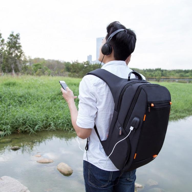 vodozashhishhennyj usb rjukzak s solnechnoj panelju 7vt haweel 2160l 08 - Водозащищенный USB-рюкзак с солнечной панелью 7Вт HAWEEL 2160L