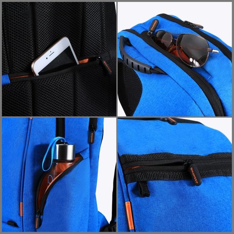 vodozashhishhennyj usb rjukzak s solnechnoj panelju 7vt haweel 2160l 12 - Водозащищенный USB-рюкзак с солнечной панелью 7Вт HAWEEL 2160L