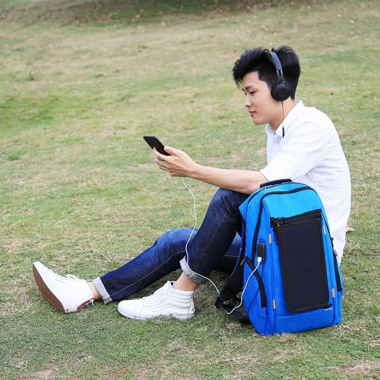 vodozashhishhennyj usb rjukzak s solnechnoj panelju 7vt haweel 2160l 15 - Водозащищенный USB-рюкзак с солнечной панелью 7Вт HAWEEL 2160L