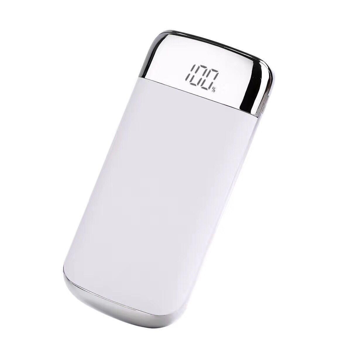 zarjadnoe power bank 10000 mach my10 17 - Зарядное-Power Bank 10000 мАч MY10: 2 USB, ЖК-экран, фонарик