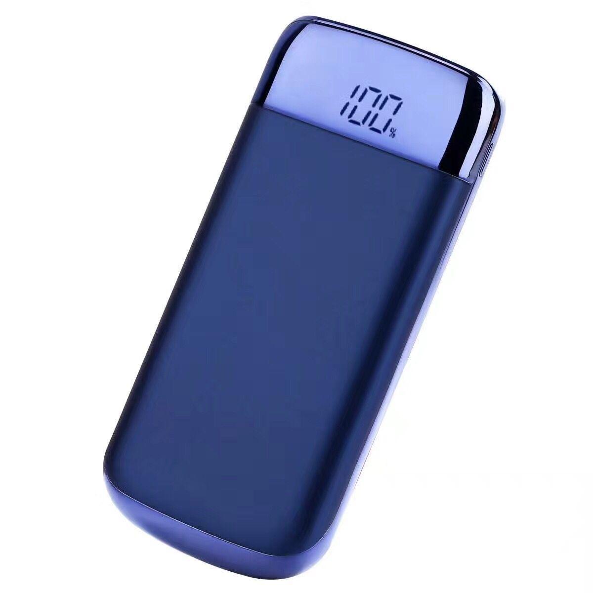 zarjadnoe power bank 10000 mach my10 18 - Зарядное-Power Bank 10000 мАч MY10: 2 USB, ЖК-экран, фонарик