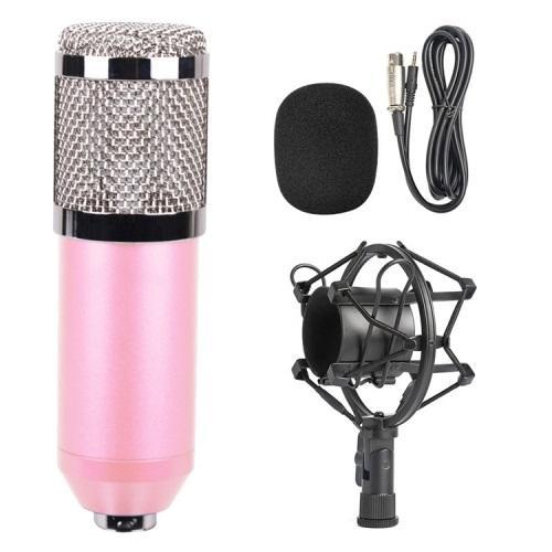 Конденсаторный микрофон (студийный микрофон) BM-800 + «паук», кабель и ветрозащита 222269