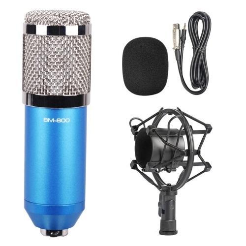 Конденсаторный микрофон (студийный микрофон) BM-800 + «паук», кабель и ветрозащита 222272