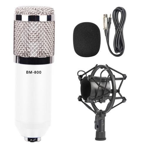 Конденсаторный микрофон (студийный микрофон) BM-800 + «паук», кабель и ветрозащита 222278