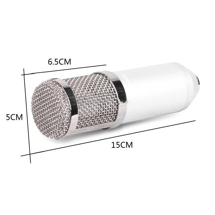 Конденсаторный микрофон (студийный микрофон) BM-800 + «паук», кабель и ветрозащита 222279