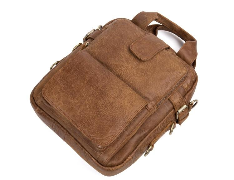 muzhskaja plechevaja sumka mantime lawyer iz naturalnoj kozhi 07 - Мужская плечевая сумка из натуральной кожи ManTime Lawyer