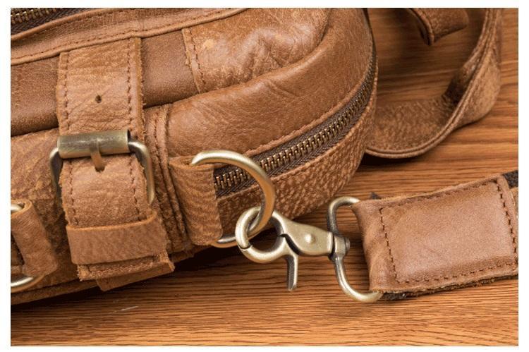 muzhskaja plechevaja sumka mantime lawyer iz naturalnoj kozhi 16 - Мужская плечевая сумка из натуральной кожи ManTime Lawyer