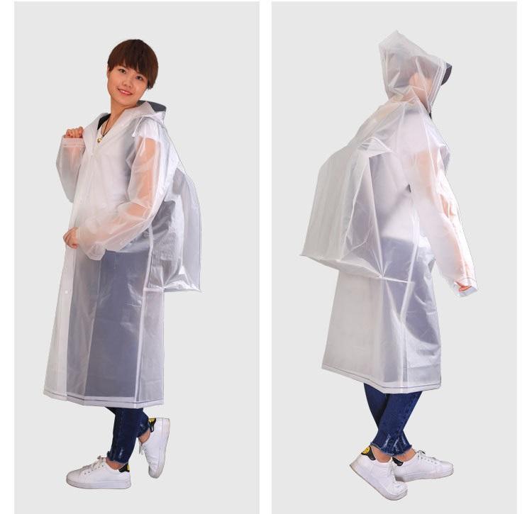 Плащ-дождевик с расширением для рюкзака (дождевик для рюкзака) Ноев плащец