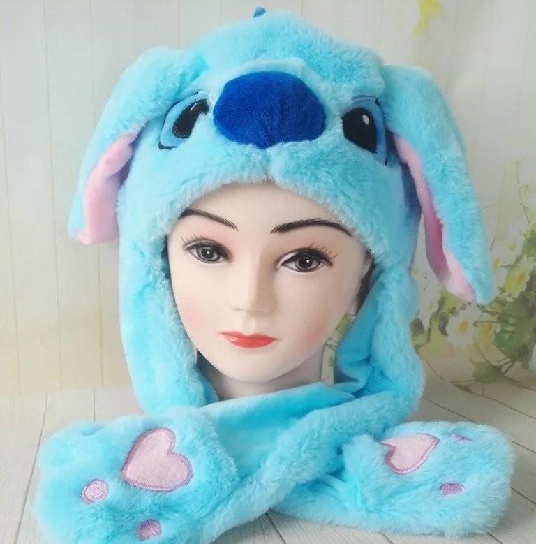 Смешная шапка с поднимающимися ушами (заяц, пикачу, стич) – оригинал 246949