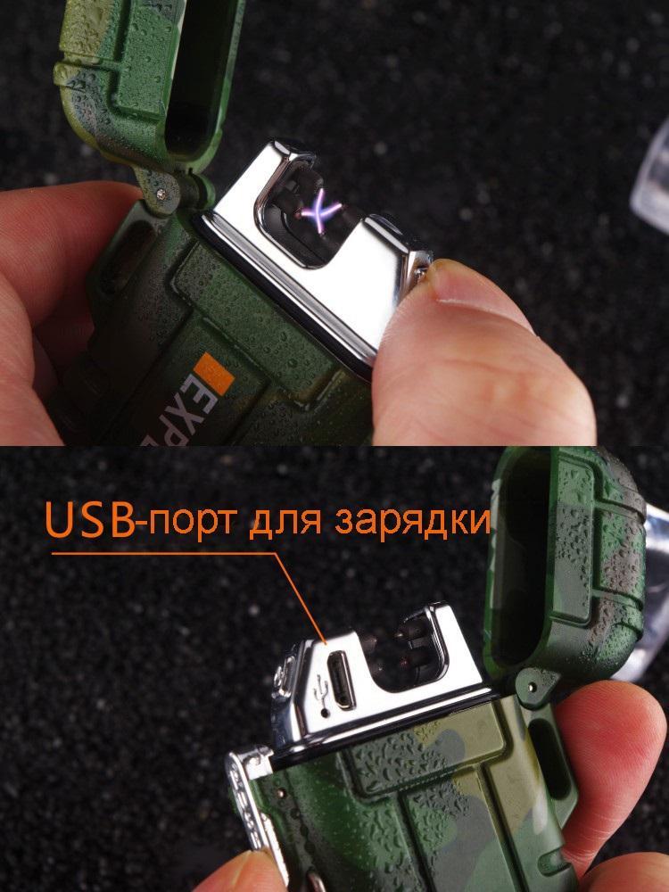 vodonepronicaemaja jelektroimpulsnaja zazhigalka explorer f12 03 - Водонепроницаемая электроимпульсная зажигалка Explorer F12