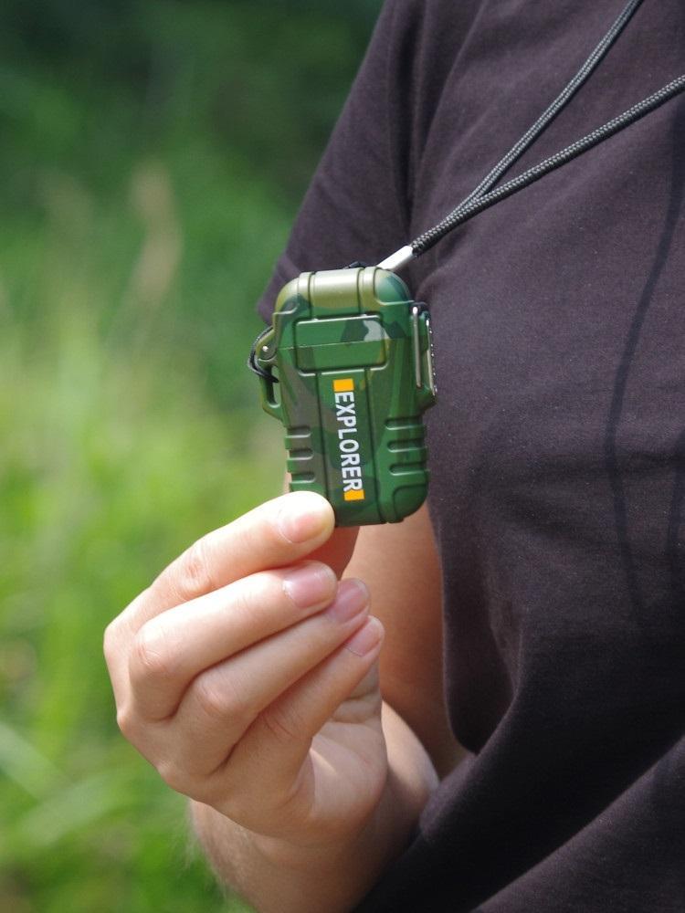vodonepronicaemaja jelektroimpulsnaja zazhigalka explorer f12 11 - Водонепроницаемая электроимпульсная зажигалка Explorer F12