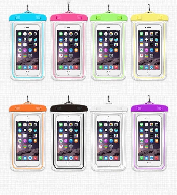 vodonepronicaemyj chehol dlja smartfona jekran do 6 djujmov so svetootrazhajushhimi jelementami 10 - Водонепроницаемый чехол для смартфона (экран до 6 дюймов) со светоотражающими элементами