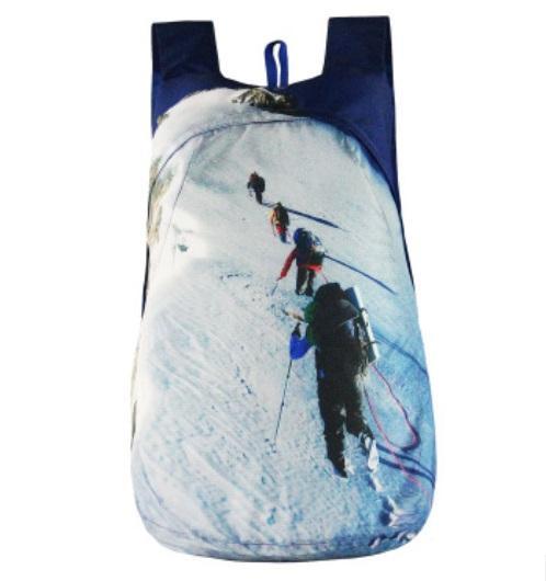 vodoottalkivajushhij skladnoj rjukzak play king 20 l s 3d printom 18 - Водоотталкивающий складной рюкзак PLAY-KING 20 л с 3D-принтом