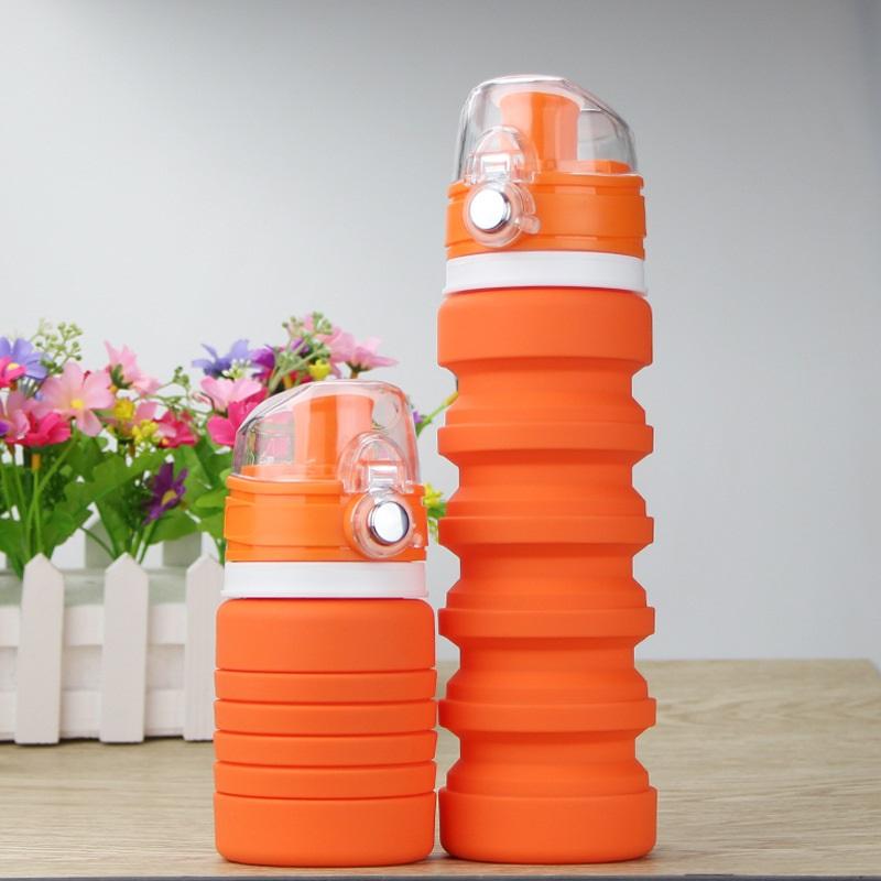 dorozhnaja butylka skladnaja 150 500 ml lofca 05 - Дорожная бутылка складная 150-500 мл LOFCA