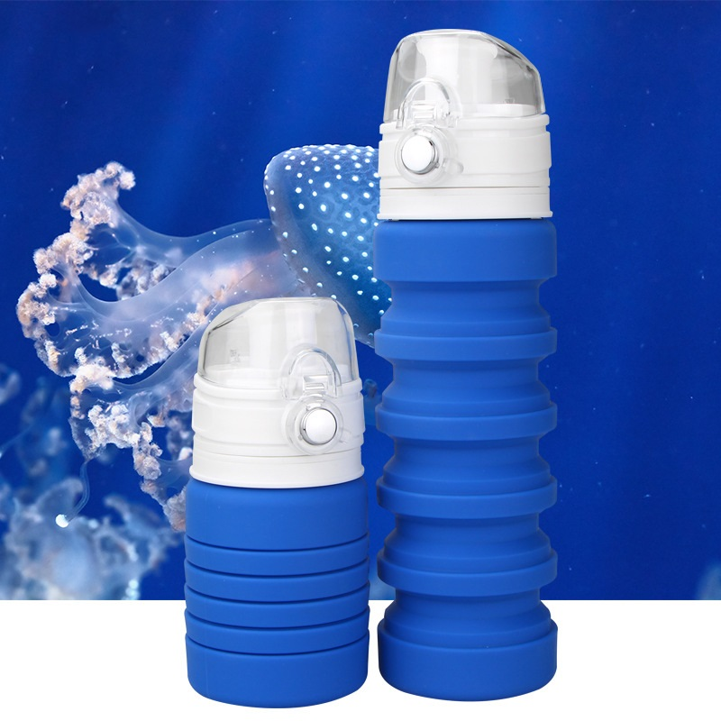 dorozhnaja butylka skladnaja 150 500 ml lofca 06 - Дорожная бутылка складная 150-500 мл LOFCA