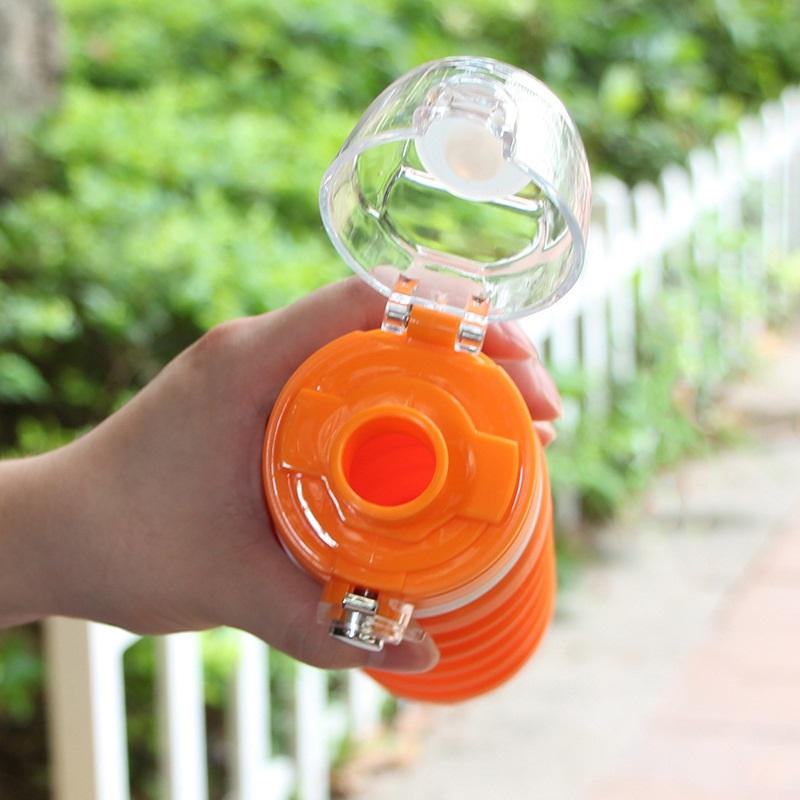 dorozhnaja butylka skladnaja 150 500 ml lofca 12 - Дорожная бутылка складная 150-500 мл LOFCA