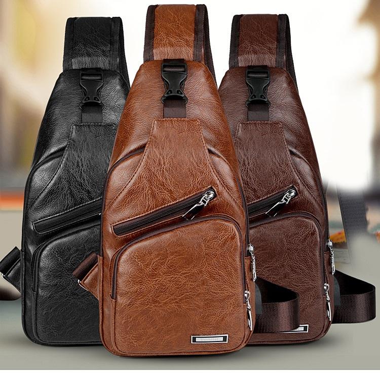 plechevaja sumka rjukzak s usb portom yushilai 10 - Плечевая сумка-рюкзак с USB-портом Yushilai – PU кожа