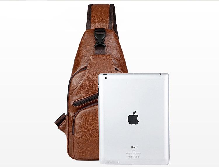plechevaja sumka rjukzak s usb portom yushilai 15 - Плечевая сумка-рюкзак с USB-портом Yushilai – PU кожа