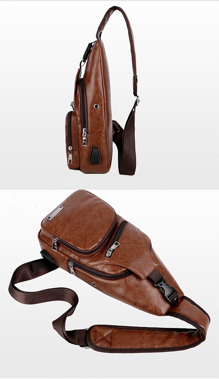 plechevaja sumka rjukzak s usb portom yushilai 23 - Плечевая сумка-рюкзак с USB-портом Yushilai – PU кожа