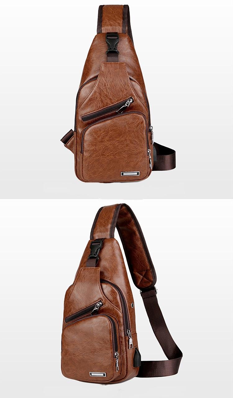 plechevaja sumka rjukzak s usb portom yushilai 24 - Плечевая сумка-рюкзак с USB-портом Yushilai – PU кожа