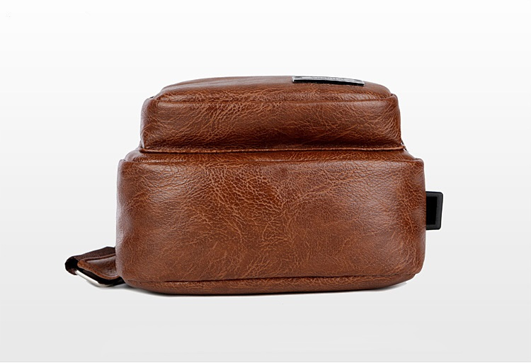 plechevaja sumka rjukzak s usb portom yushilai 27 - Плечевая сумка-рюкзак с USB-портом Yushilai – PU кожа