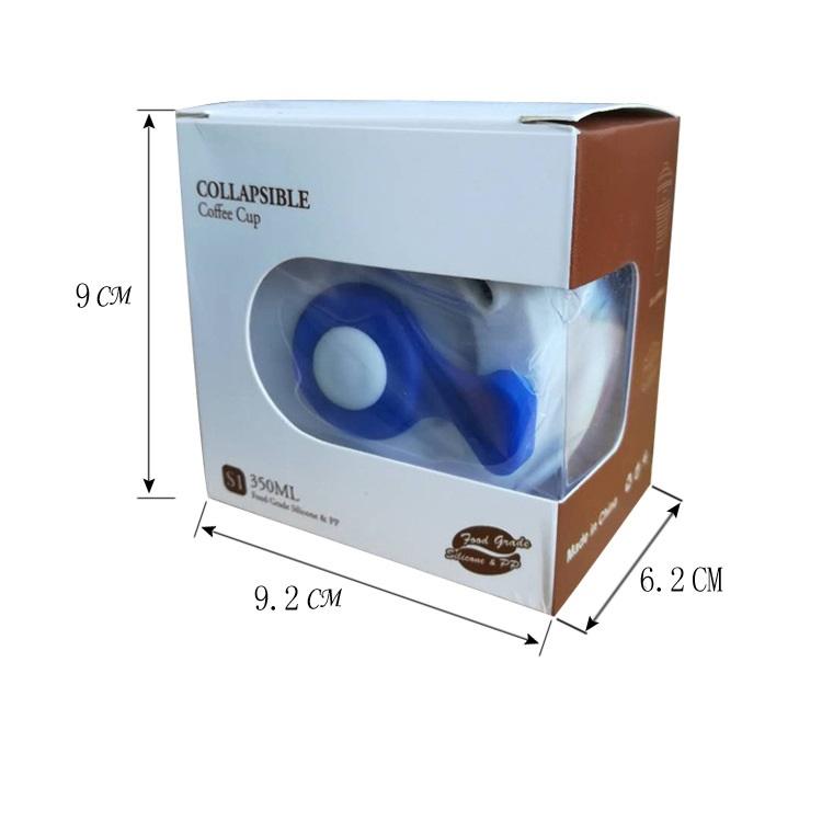skladnoj stakan s kryshkoj 350 ml 17 - Складной стакан с крышкой (350 мл) – пищевой пластик