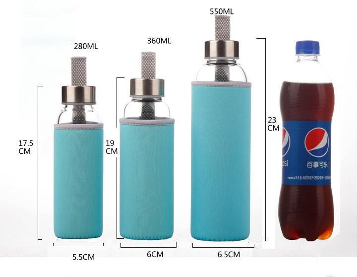 sportivnaja banka butylka dlja vody adel a1628 v chehle 03 - Спортивная банка-бутылка для воды Adel A1628 в чехле