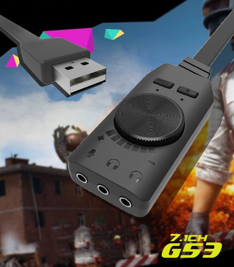 vneshnjaja zvukovaja karta gs3 usb virtualnyj 7.1 kanalnyj obemnyj zvuk 01 - Внешняя звуковая карта GS3 – USB, виртуальный 7.1-канальный объемный звук