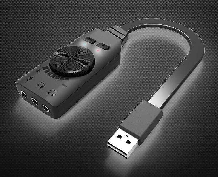 vneshnjaja zvukovaja karta gs3 usb virtualnyj 7.1 kanalnyj obemnyj zvuk 02 - Интернет-магазин удивительных вещей