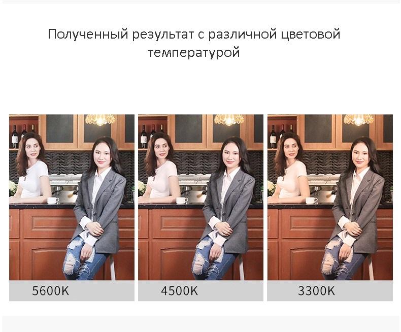 nakamernyj svet dlja fotografa viltrox vl 200 16 1 - Комплект Свет фотографа: 3 х накамерные осветители Viltrox VL-200 со штативами и адаптерами питания + пульт ДУ + сумка