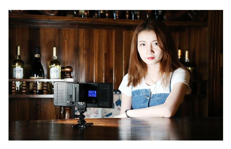 professionalnyj videosvet dlja fotografa viltrox l132t 04 - Профессиональный видеосвет для фотографа Viltrox L132T – ЖК-экран, 1065 лм (студийный свет)