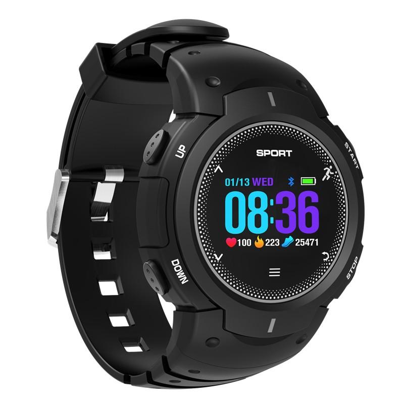 Смарт-часы NO.1 F13: Bluetooth 4.0, пульсометр, шагомер, напоминание о разминке, мониторинг сна, IP68 водозащита, уведомления со смартфона