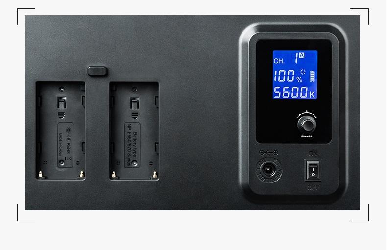 vneshnij videosvet viltrox vl 400t 03 - Внешний видеосвет Viltrox VL-400T – 224 светодиода, яркость 2900 лм