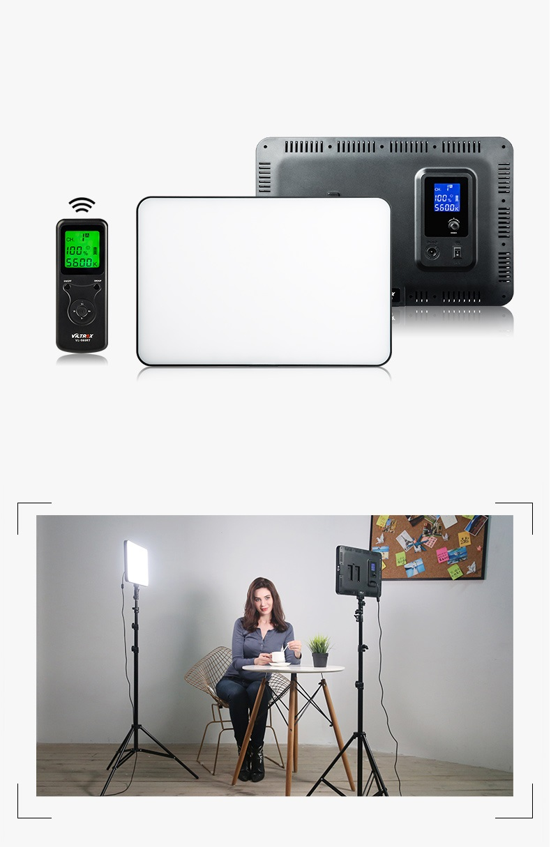 vneshnij videosvet viltrox vl 400t 06 - Внешний видеосвет Viltrox VL-400T – 224 светодиода, яркость 2900 лм