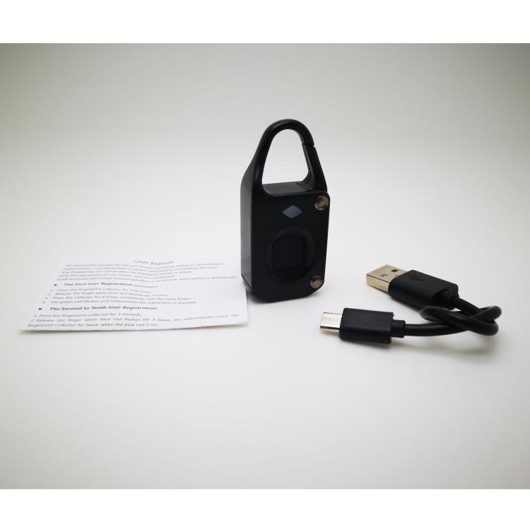 acs7744b 5 - Электронный замок с биометрическим считывателем отпечатков пальцев USB Smart Lock