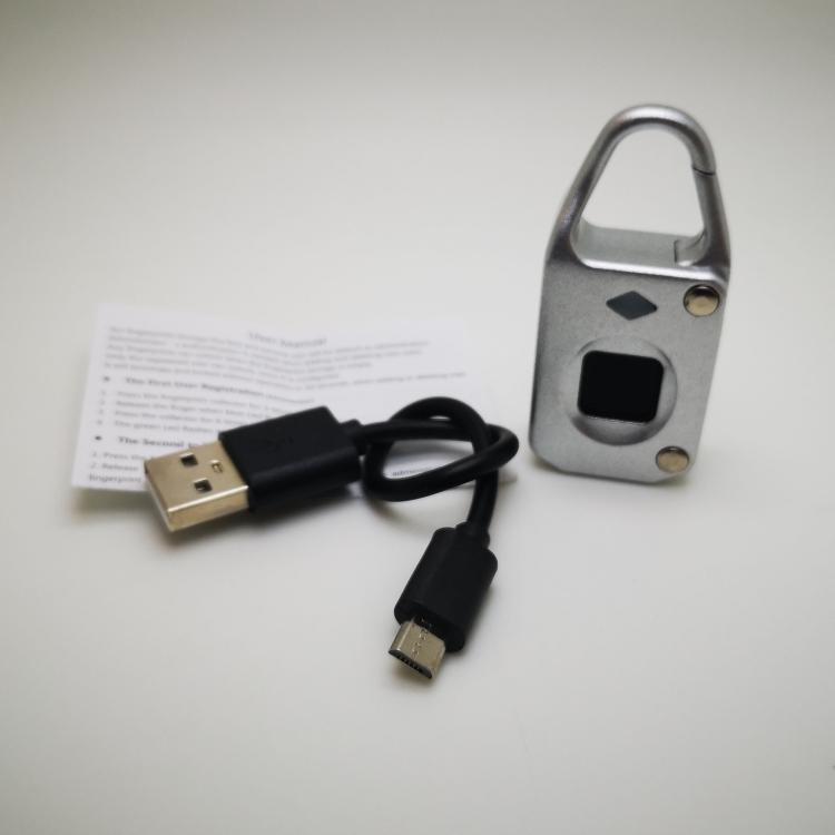 acs7744s 5 - Электронный замок с биометрическим считывателем отпечатков пальцев USB Smart Lock