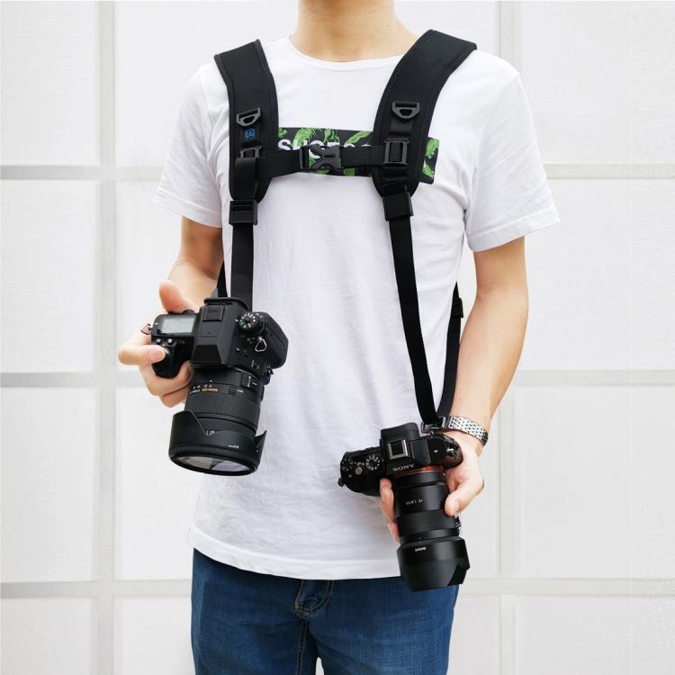 bystrorazemnyj plechevoj remen dlja kamer puluz bandazh dlja fotokamery 07 - Быстроразъемный плечевой ремень для камер PULUZ (бандаж для фотокамеры)