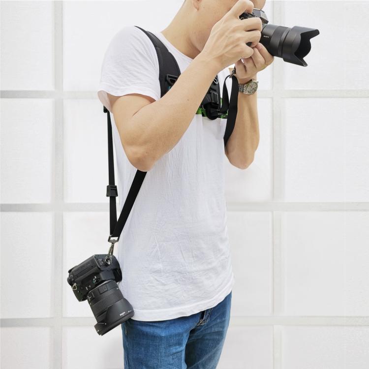 bystrorazemnyj plechevoj remen dlja kamer puluz bandazh dlja fotokamery 08 - Быстроразъемный плечевой ремень для камер PULUZ (бандаж для фотокамеры)