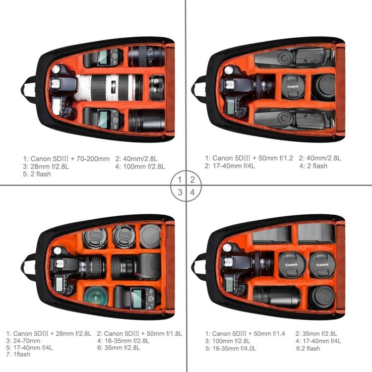 fotorjukzak puluz sumka dlja kamery i aksessuarov 08 - Фоторюкзак PULUZ (сумка для камеры и аксессуаров) – водонепроницаемый, устойчивый к царапинам