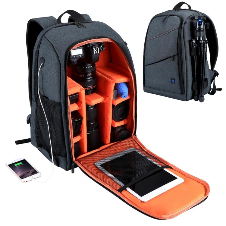 Фоторюкзак PULUZ (сумка для камеры и аксессуаров) – водонепроницаемый, устойчивый к царапинам