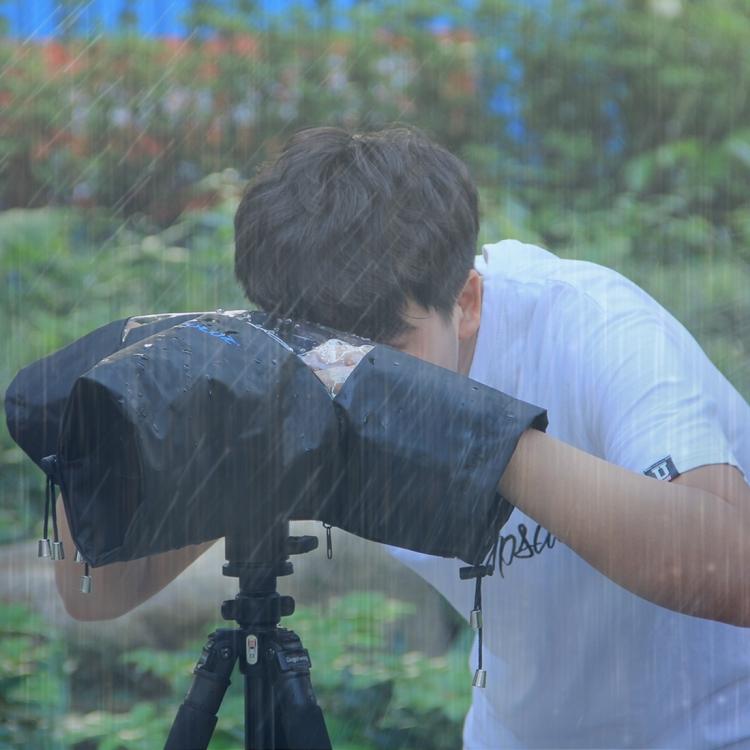 chehol ot dozhdja dlja kamery dozhdevoj chehol puluz 10 - Чехол от дождя для камеры (дождевой чехол) PULUZ