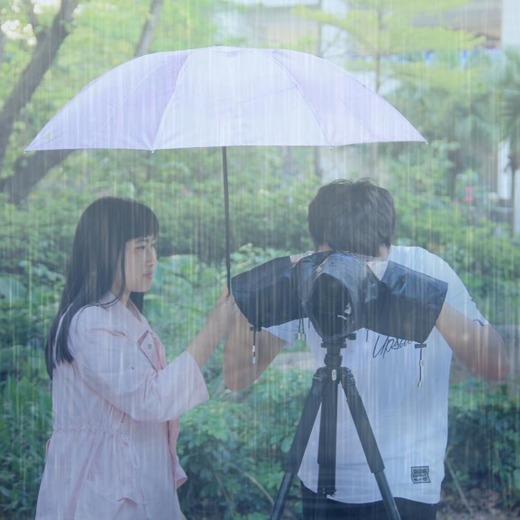chehol ot dozhdja dlja kamery dozhdevoj chehol puluz 11 - Чехол от дождя для камеры (дождевой чехол) PULUZ