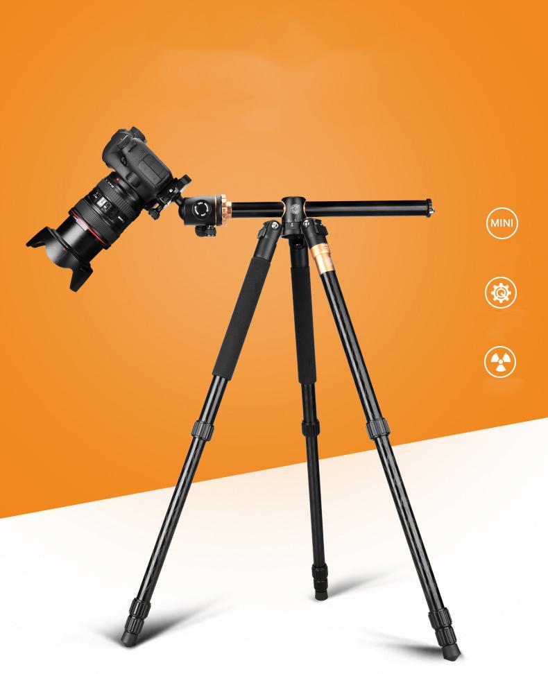 mnogofunkcionalnyj shtativ dlja kamery q999h 10 - Многофункциональный штатив для камеры Q999H: режим монопода, макросъемка, поворот камеры на 360°